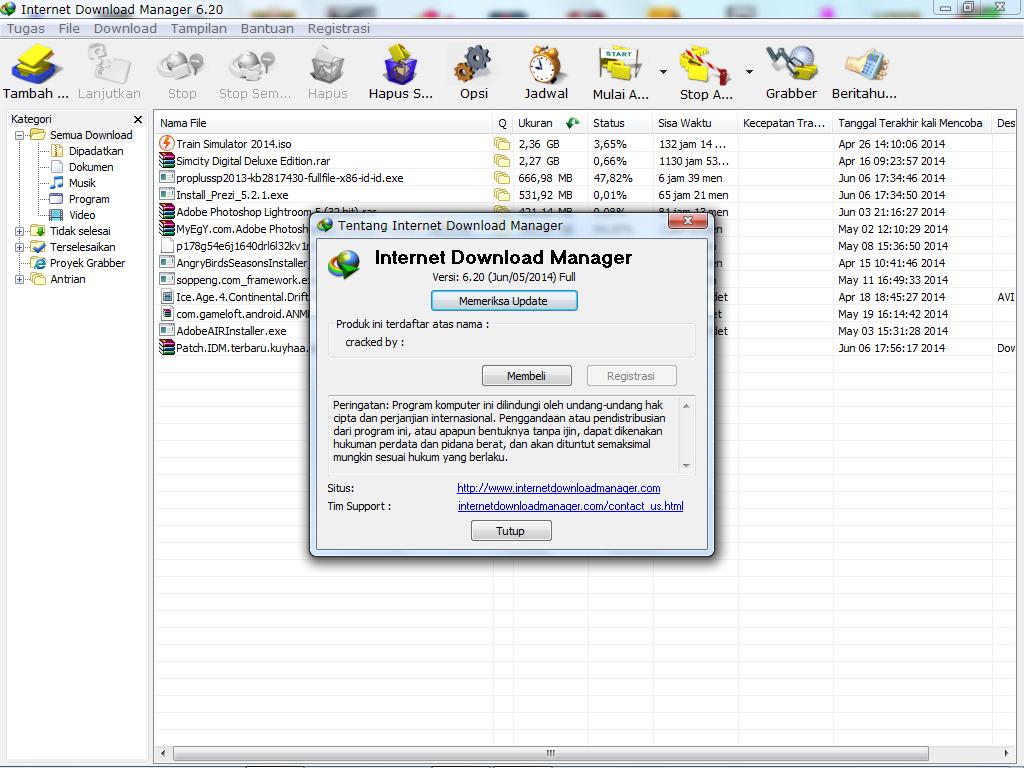 Download IDM Terbaru 6.20 Build 5 Full Version