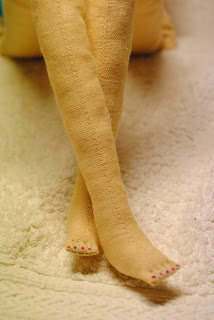 тильда ножки спальчиками