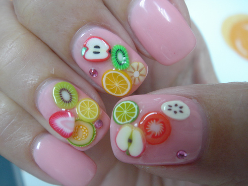 Cute Fruit Nail Designs