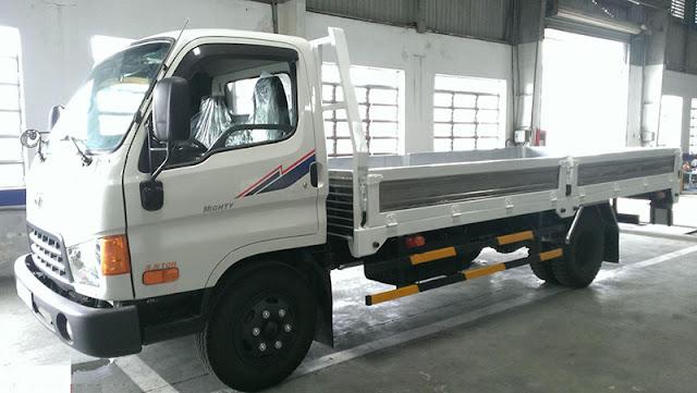 xe tải hyundai hdv450 thùng lửng