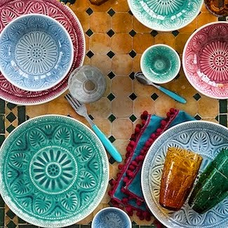 Item of the week: Medina dinner plates from John Lewis