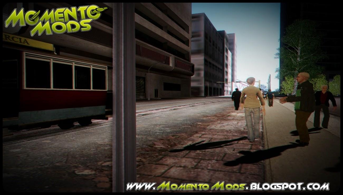GTA SA - Todos Os Peds do GTA IV Para GTA SA