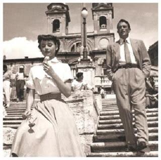 Imagen de una escena de 'Vacaciones en Roma'