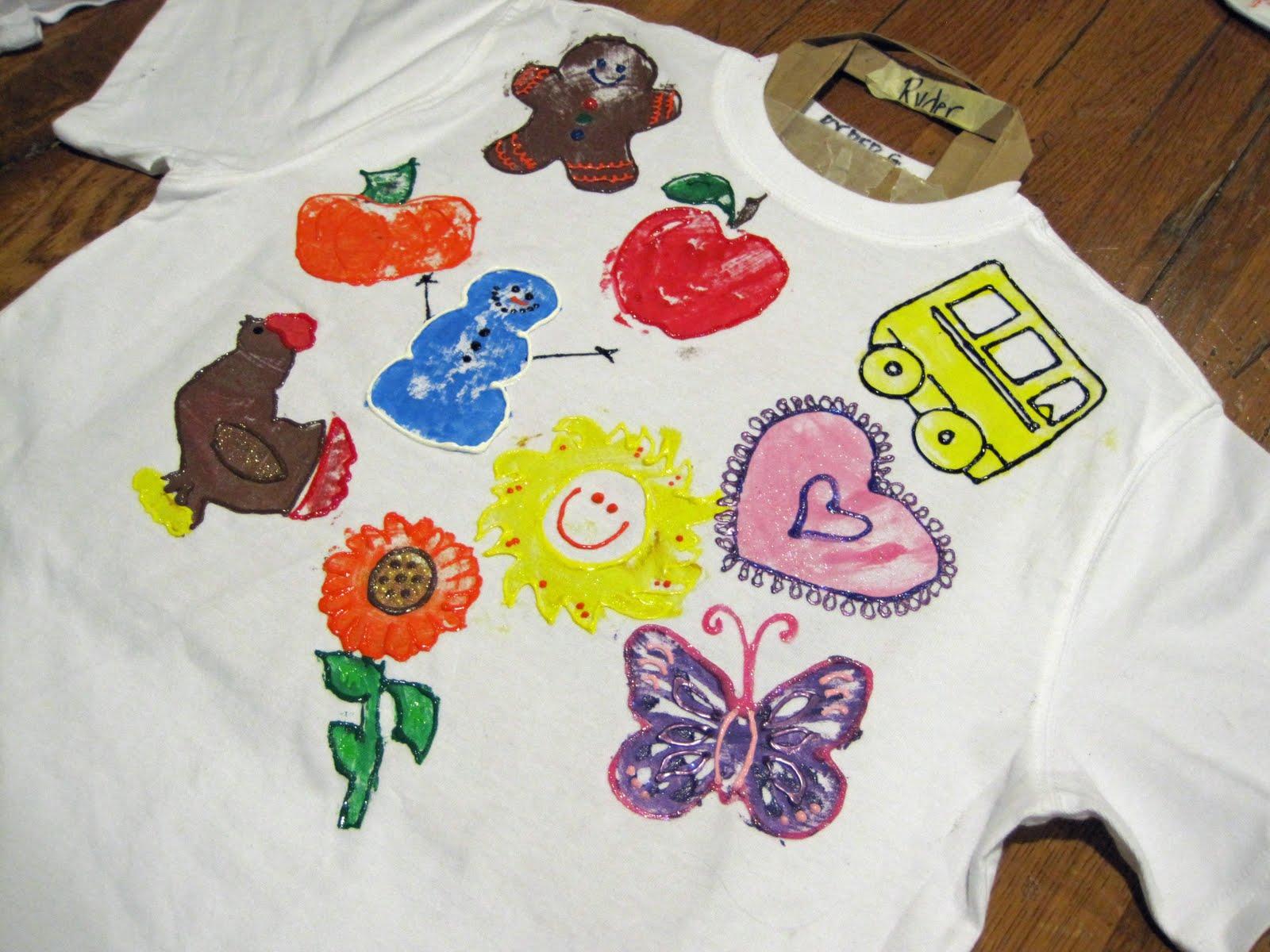 Potd 125 puffy paint Puffy paint shirt designs