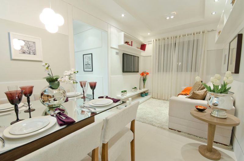 Super dicas para decorar pequenos ambientes vale muito a for Como decorar ambientes pequenos