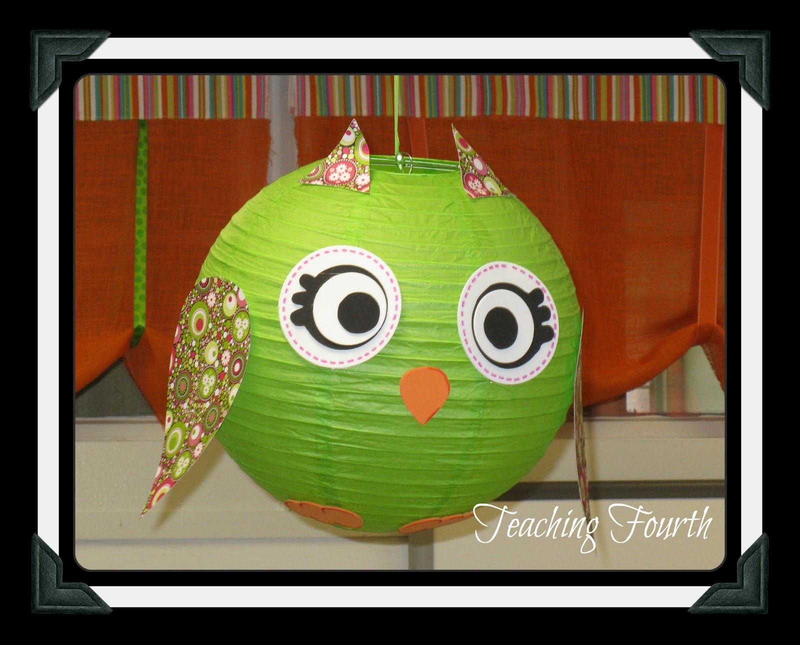 Owl Classroom Decor Ideas ~ Teaching fourth sorry i fibbed more classroom