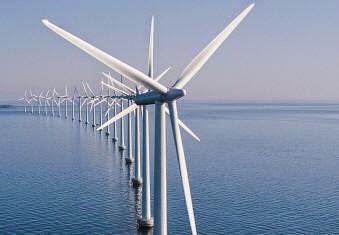 Energi listrik menggunakan turbin angin
