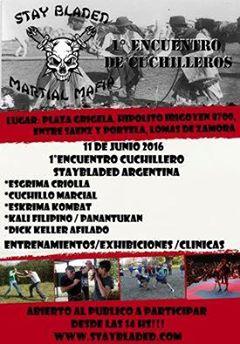 STAY BLADED 1º Encuentro de Cuchilleros