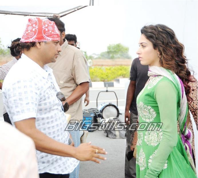 Oosaravelli Working Stills - NTR & Tamanna Telugu Movie