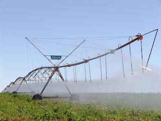 Projeto irrigação das três barras em Cristalina