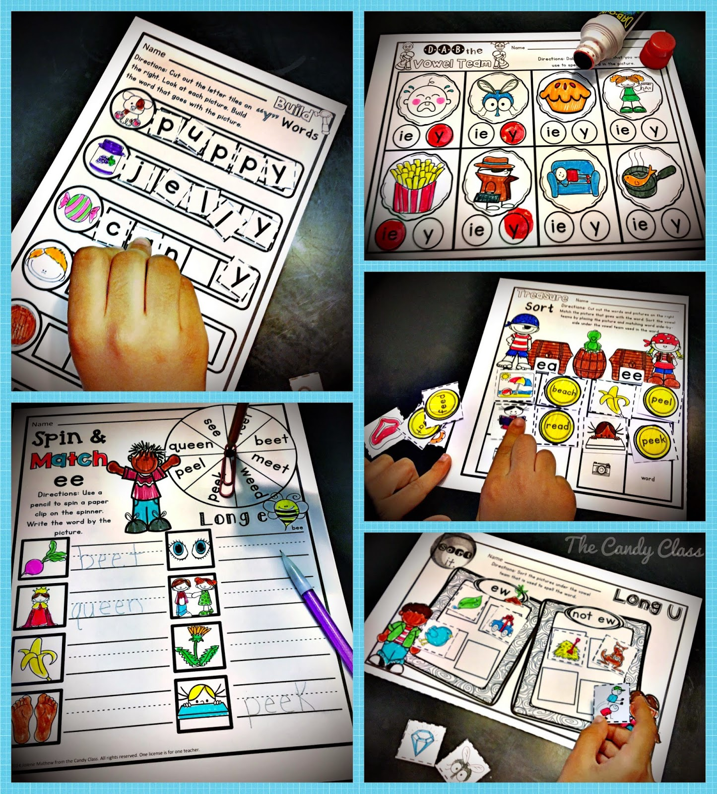 worksheet Vowel Team Worksheets oa oe ow the vowel teams candy class skills like main point i am trying to make is worksheets should be kept in moderation and children need more than just work