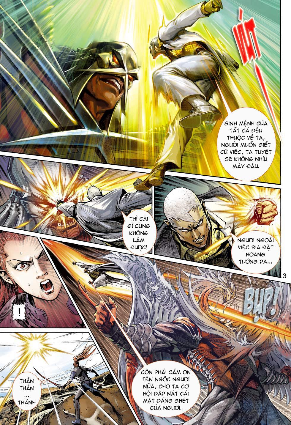 Thần Binh 4 chap 16 - Trang 3