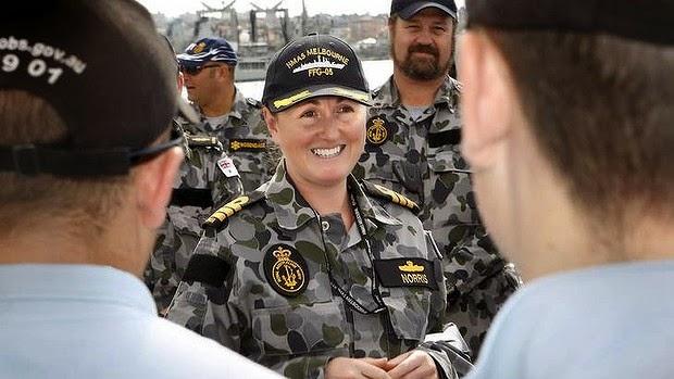 Kapten Wanita Mengetuai Tentera Laut Australia Dalam Operasi Mencari MH370