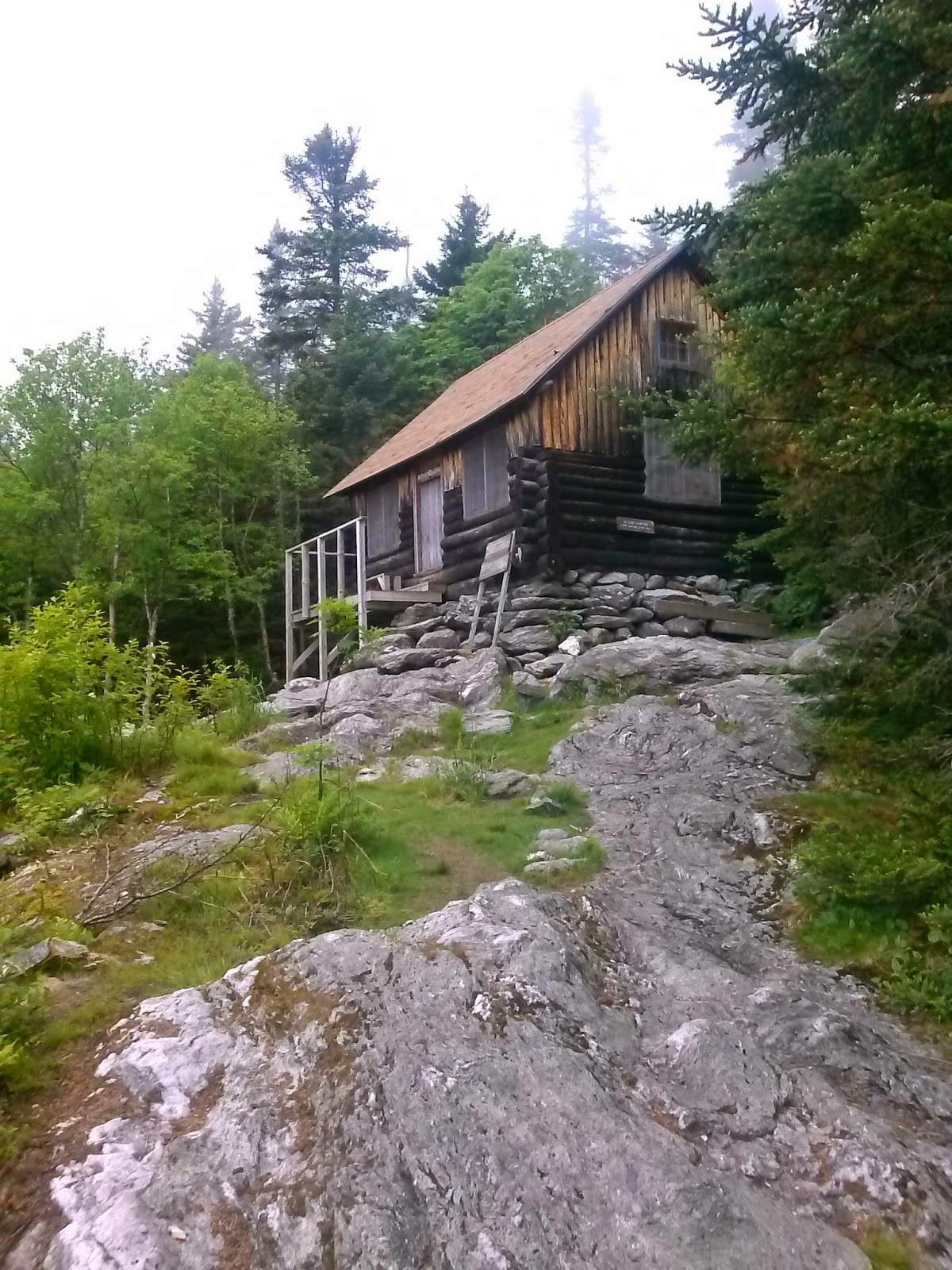 The fowler family parry moves to vermont butler lodge trail for Trail lodge