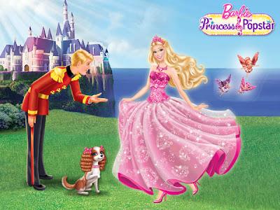 Sempre barbie imagens barbie a princesa e a popstar - Barbie princesse popstar ...