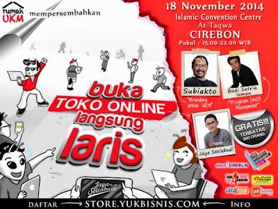 seminar Buka Toko online langsung laris