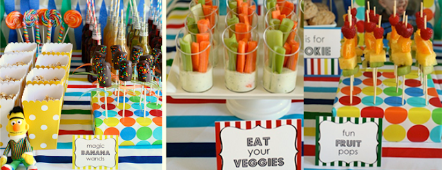 Sesame Street Birthday Party Food
