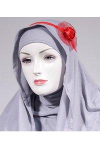 HeadBand AE56 - Merah (Toko Jilbab dan Busana Muslimah Terbaru)