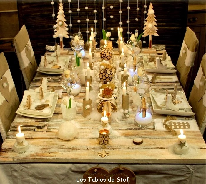 D coration home pat comment d corer votre table de r veillon - Deco table de noel a faire ...