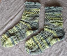 Mustermix - Reste - Socken - Kal (Mumi)