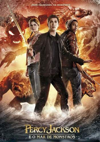 Percy Jackson e o Mar de Monstros 3D Torrent – BluRay 1080p Dual Áudio (2013)