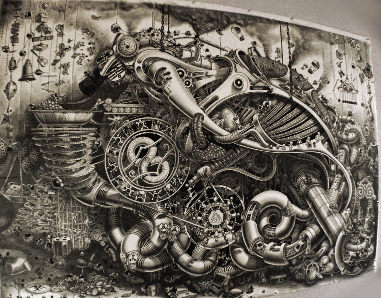 11-Deadpan-Comedy-Tryptic-Samuel-Gomez-Massive-Detailed-Drawings-and-a-Guitar-www-designstack-co
