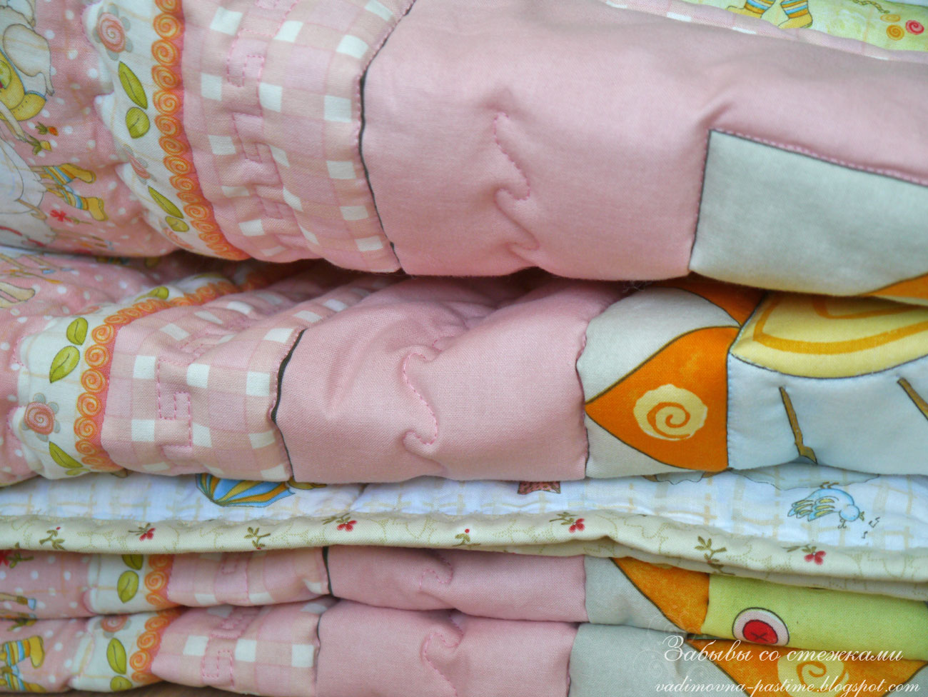 пэчворк одеяло