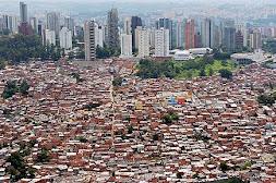 A mão de Deus sobre São Paulo-SP e todos os povos e classes.