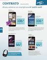 Movistar smartphones abril 2015