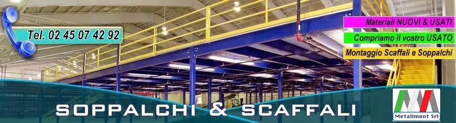 Soppalchi industriali per magazzino - SOPPALCHI NUOVI E USATI