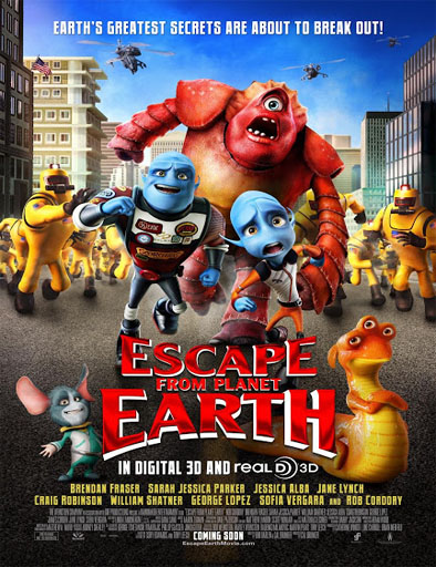Ver Escape from Planet Earth (2013) Online
