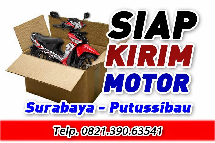 Jasa Pengiriman Motor Surabaya Putussibau
