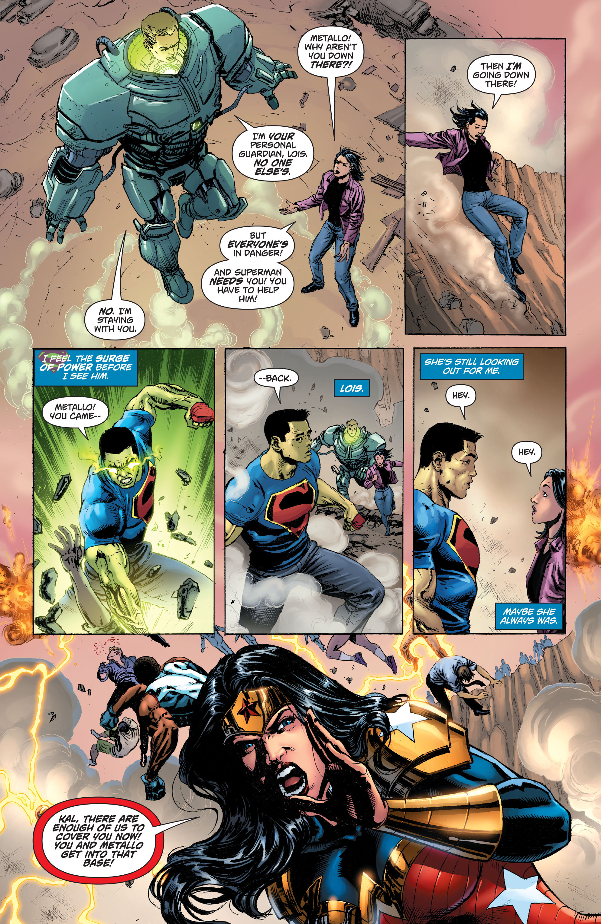Read online Superman (2011) comic -  Issue #49 - 18