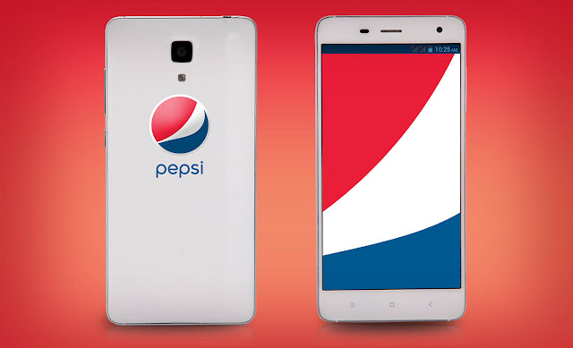 Pepsi Launches New Smartphone P1 with Fingerprint Sensor