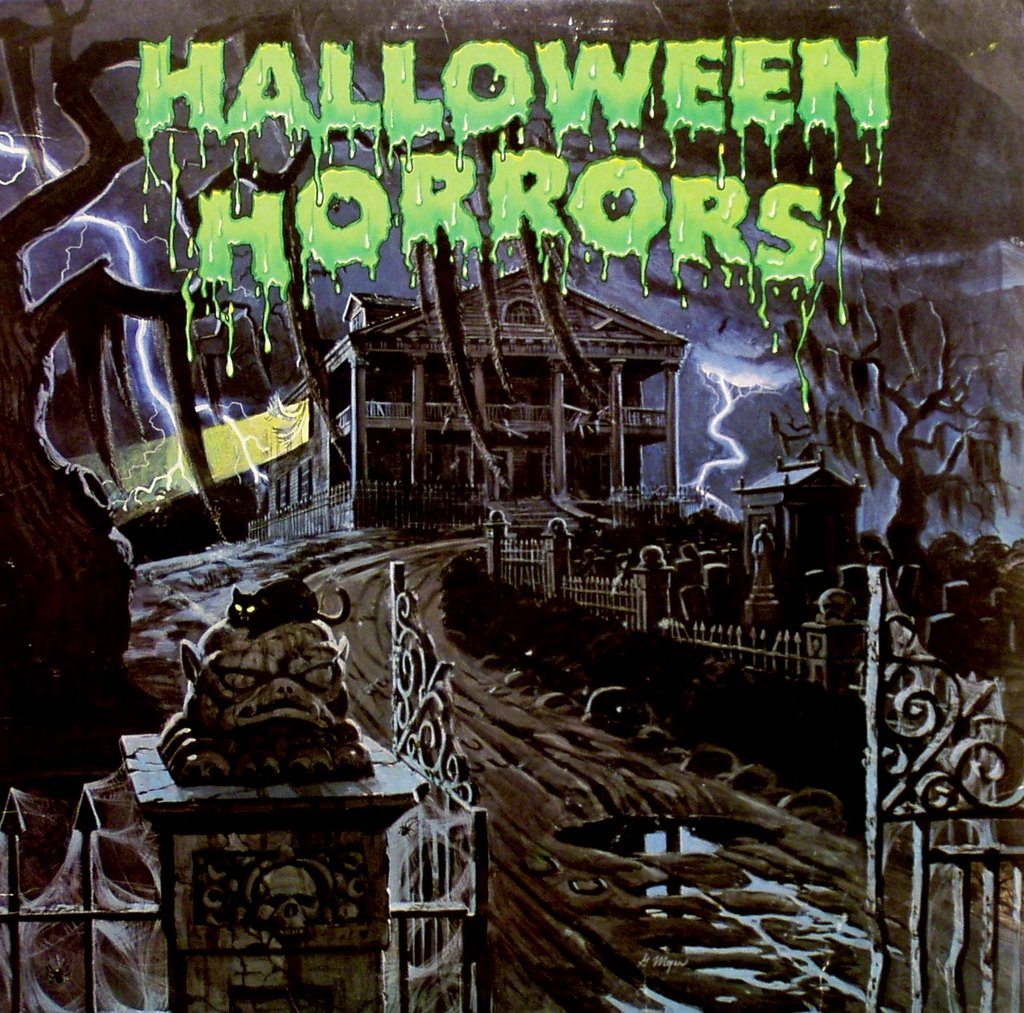 halloween horrors for best results listen to this album in the dark