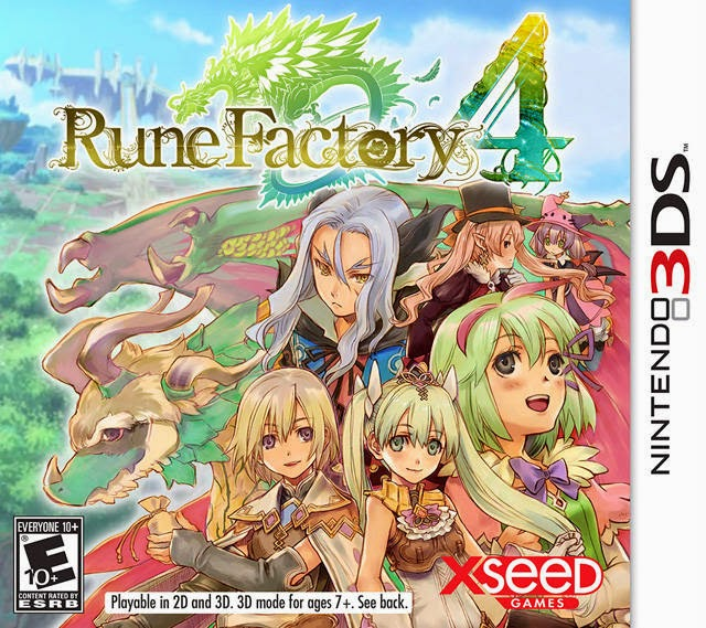 3DS Rune Factory 4 Cover