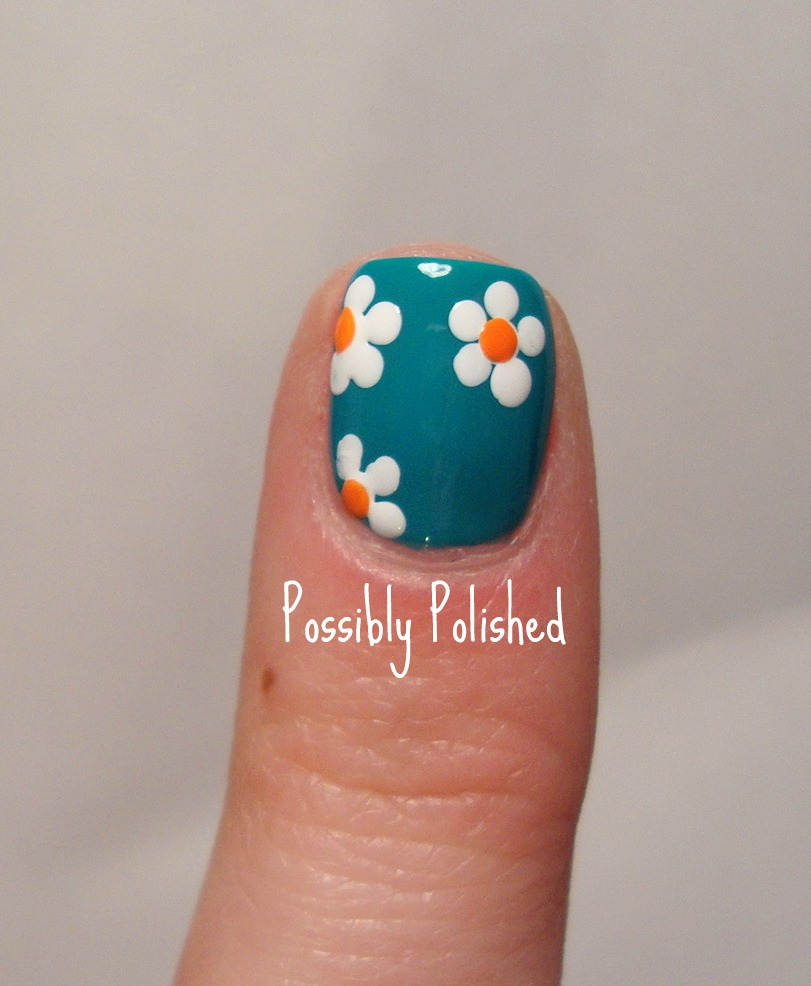Possibly Polished: Tips on Tuesday: Easy 5 Petal Flower