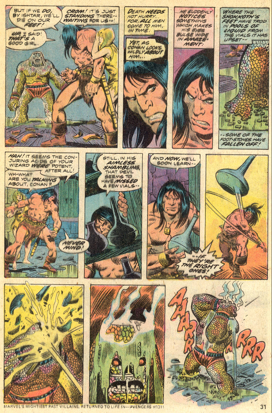 Conan the Barbarian (1970) Issue #46 #58 - English 18