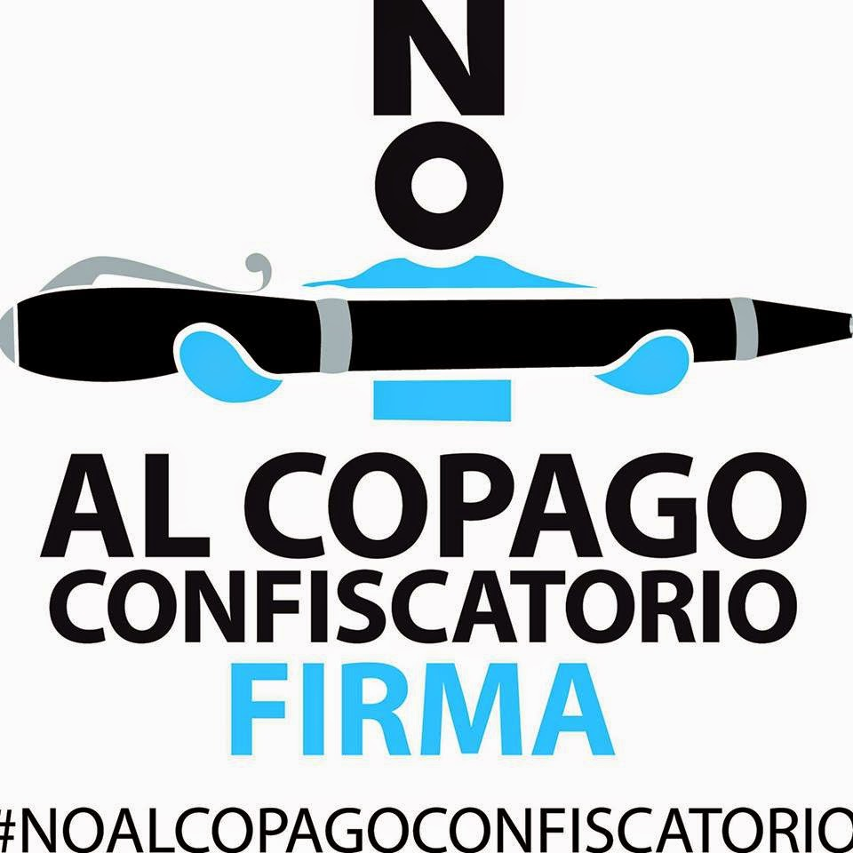 Logotipo Iniciativa Legislativa Popular No al Copago Confiscatorio