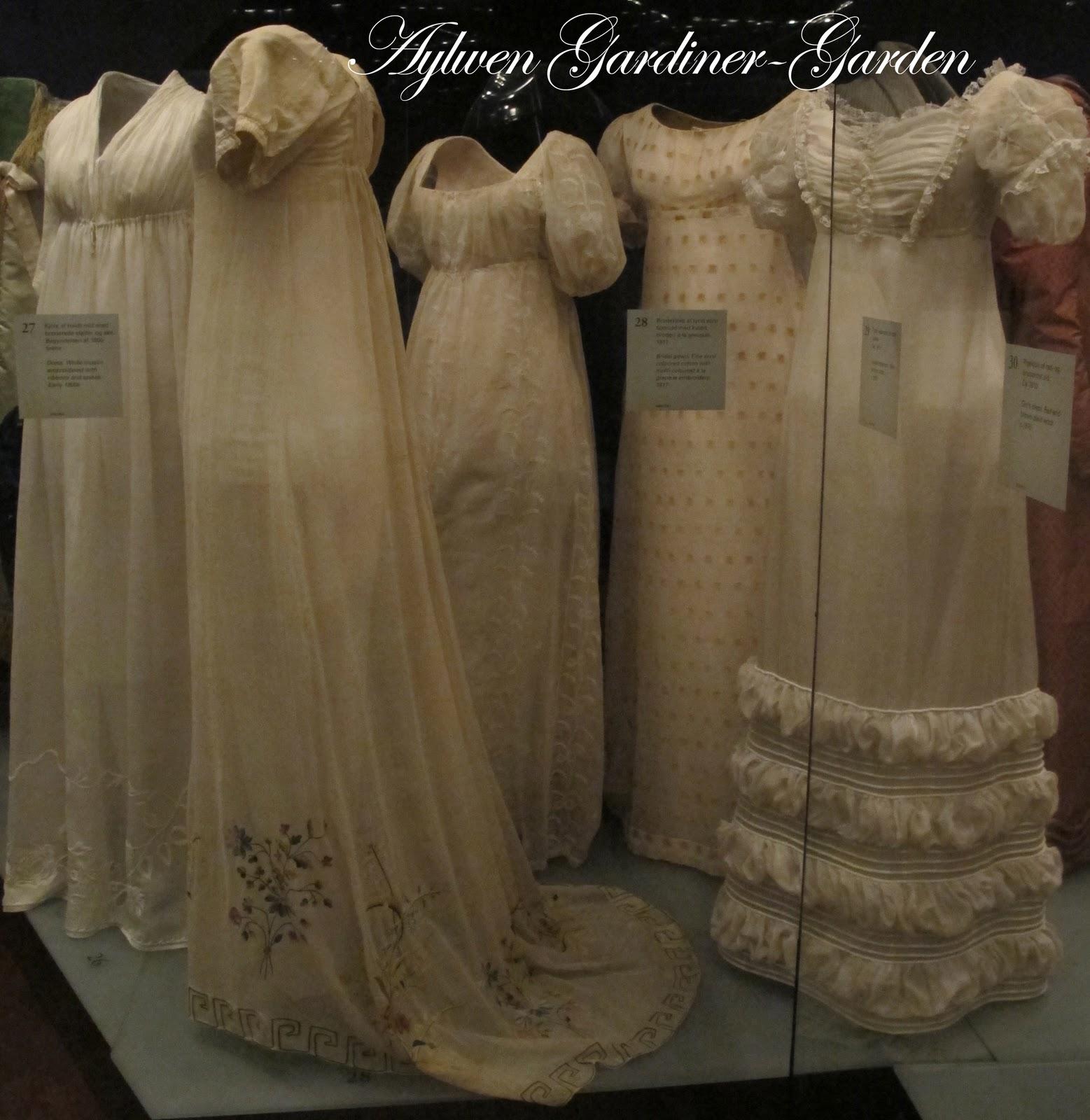 Regency: Aylwen Gardiner-Garden: My Tidens Tøj Regency Gown (updated