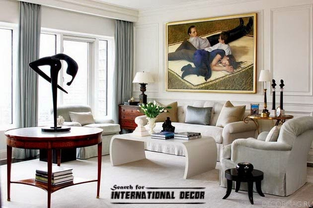American style in the interior design and houses American interior design