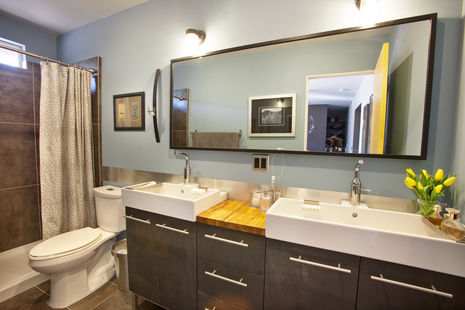 Stylish Bathroom Remodel For Less Than Home Improvement - 5000 bathroom remodel
