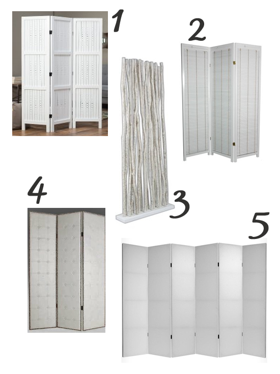 1 - This white wood room divider from Hayneedle is one of my favorite  options for its simple lines and understated detail, but unfortunately it  is currently ... - Shopping For Style} In Search Of A Room Divider Blue I Style