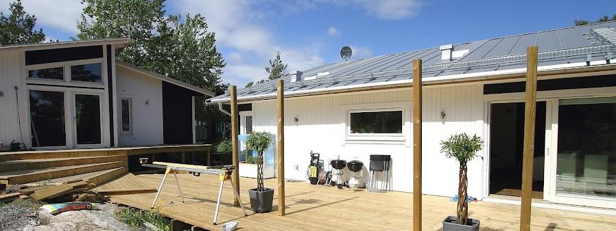 Ett husprojekt i Tyresö