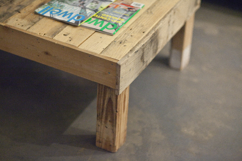 Wood Pallet Coffee Table Designs