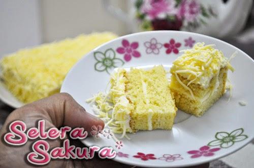 Snow Cheese Cake...Meleleh!