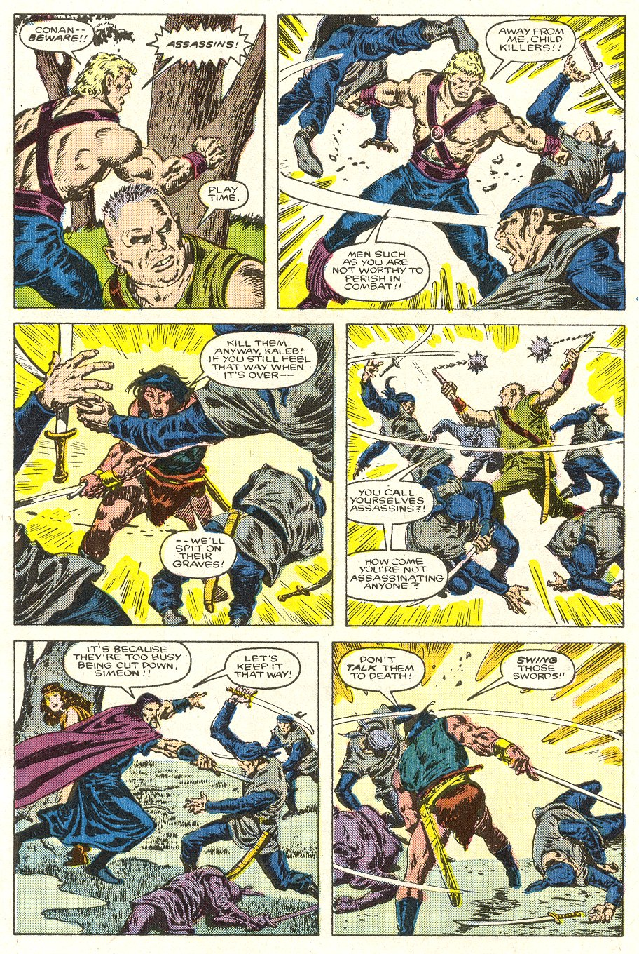 Conan the Barbarian (1970) Issue #188 #200 - English 5