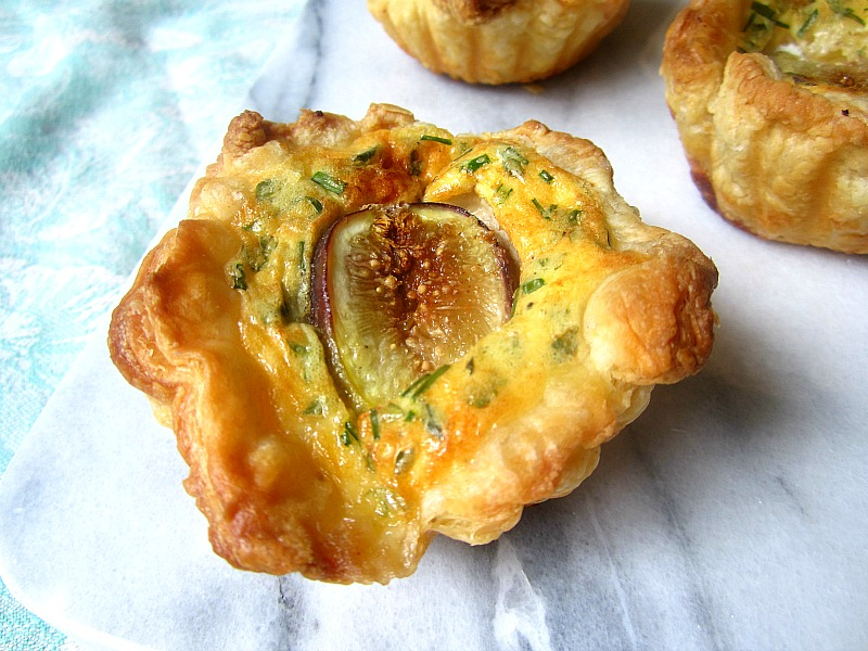 Stacey Snacks: Fig & Goat Cheese Tartlets