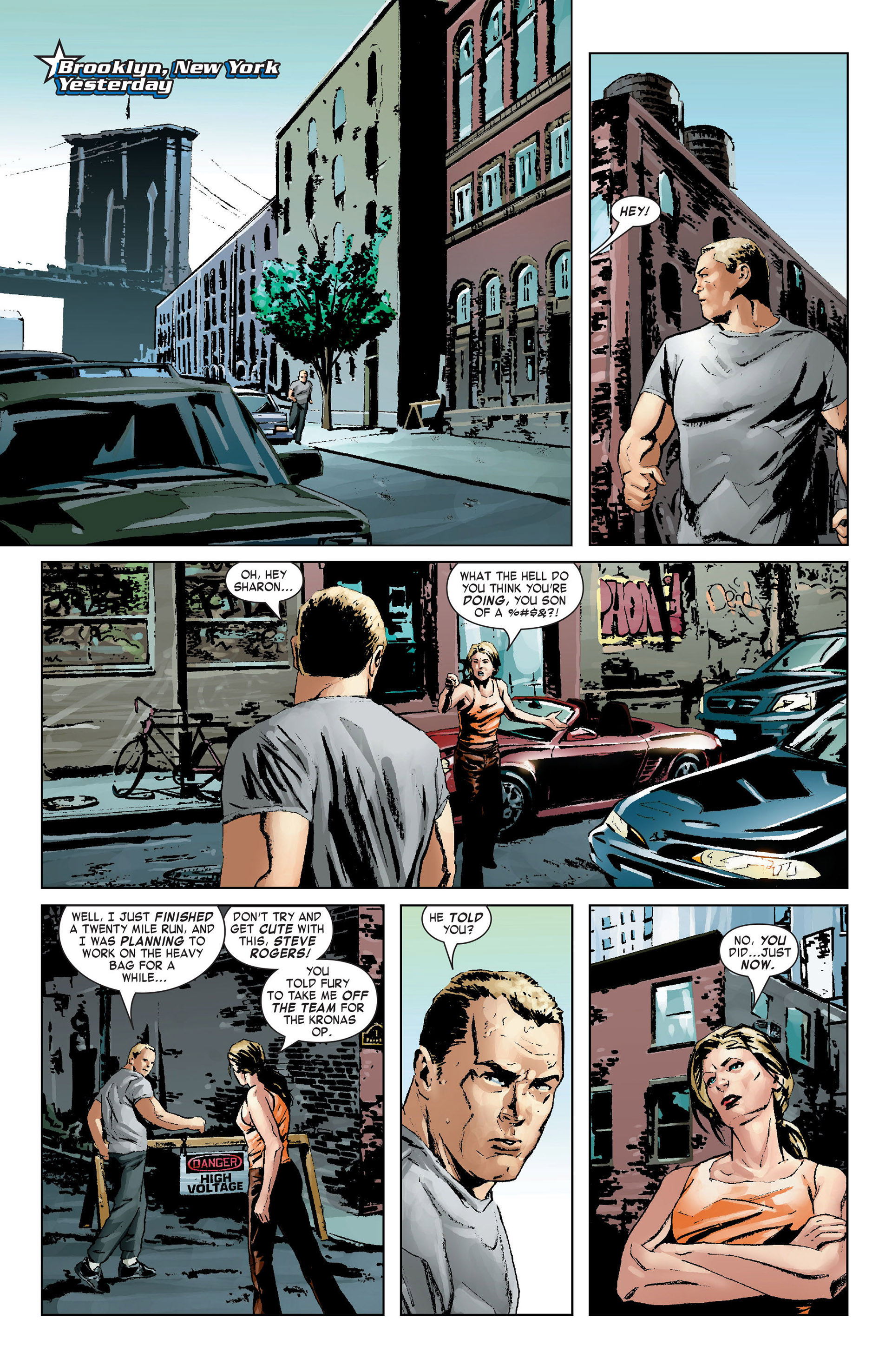 Captain America (2005) Issue #9 #9 - English 6