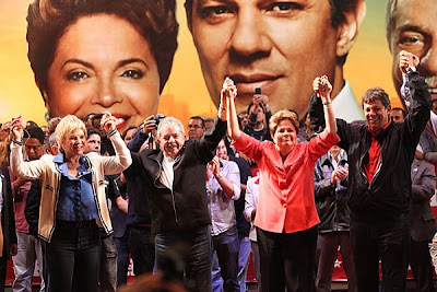 Dilma, Lula e Haddad - Um Asno